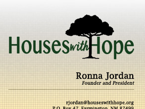 Houses with Hope Business Card