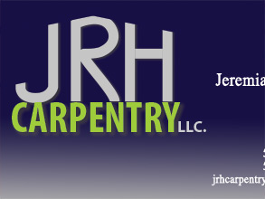JRH Carpentry Business Card